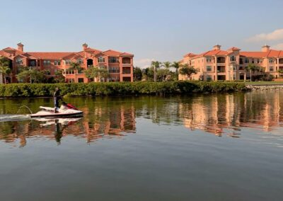 Enjoy the lush landscapes while taking an exciting jetski ride!